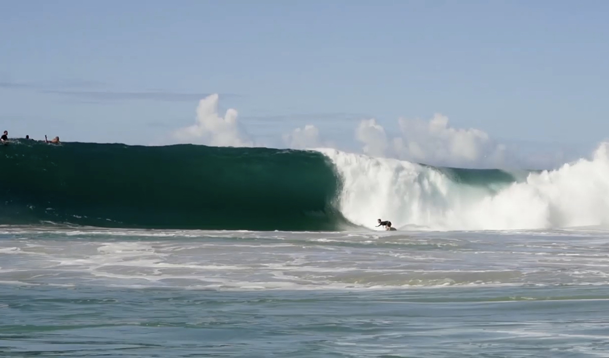 man surfing in Kermas